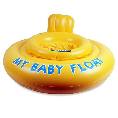 Bestway Baby Swimmer, Schwimmsitz für Babys bis 1 Jahr, 11 Kg Tragkraft, 4 Luftkammern