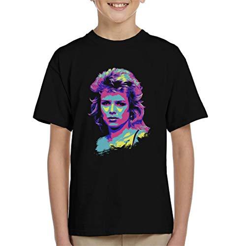 TV Times Kim Wilde 80s Pop Singer Pop Art Stylised Kid s T-Shirt