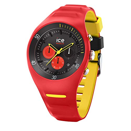 Ice-Watch - P. Leclercq Red - Men's wristwatch with silicon strap - Chrono - 014950 (Large)