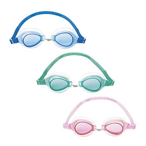 Bestway Hydro-Swim Schwimmbrille, für Kinder, Lil\' Lightning, sortiert