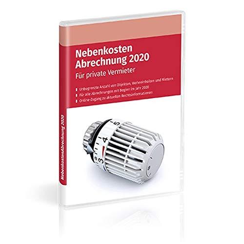 Nebenkosten-Abrechnung 2020, 1 CD-ROMRechnen Sie Betriebs- und Nebenkosten rechtssicher ab