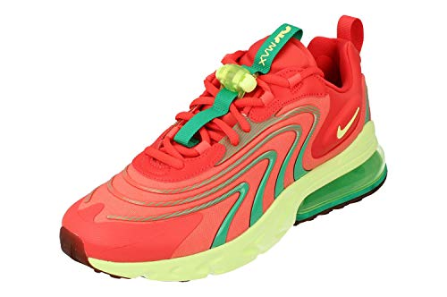 Nike Air Max 270 React ENG Uomo Running Trainers CJ0579 Sneakers Scarpe (UK 7.5 US 8.5 EU 42, Track Red Barely Volt 600)