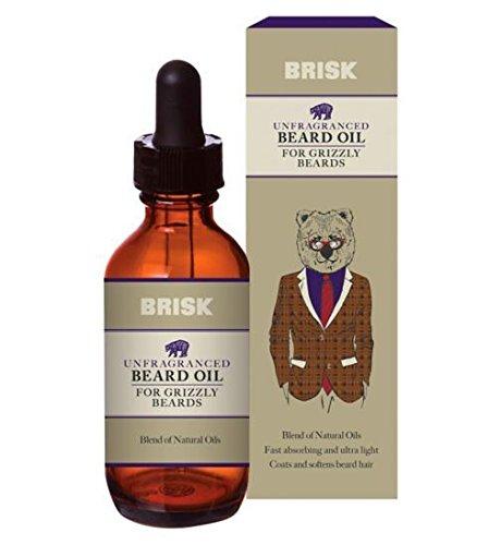 Brisk Unfragranced Beard Oil 50ml