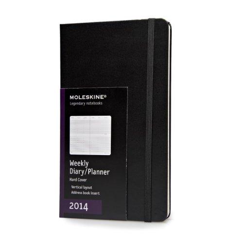2014 Moleskine Large Diary Weekly Vertical Hard (Moleskine Diaries)