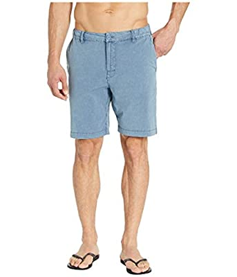 RVCA Men All Time Rinsed Coastal Hybrid Short Red 34 from RVCA
