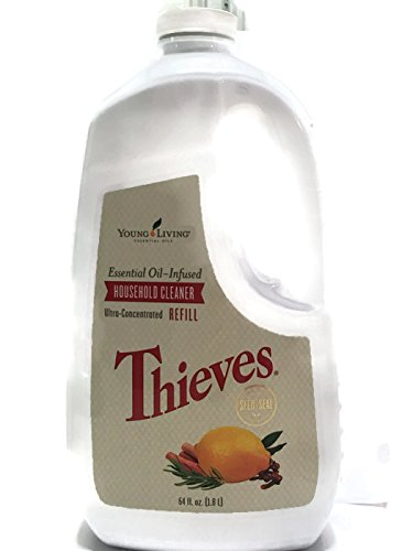 Thieves Household Cleaner Refill 64oz by Young Living Essential Oils,64 fl.oz.