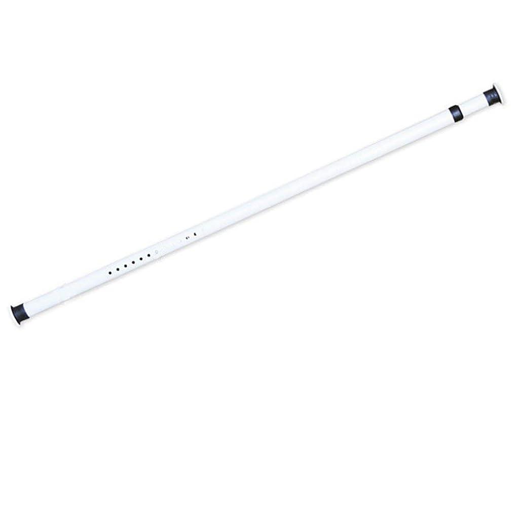 確認してくださいチャットゴルフ突ぱり強力ステンレスポール 強力太タイプの突っ張り棒 伸縮棒 バネ入り シャワーロッドカーテンポールタイプのつっぱり棒 強い耐荷重 耐荷重 10-35kg取付寸法110~410cm (ホワイト標準版0.7-1.1m)