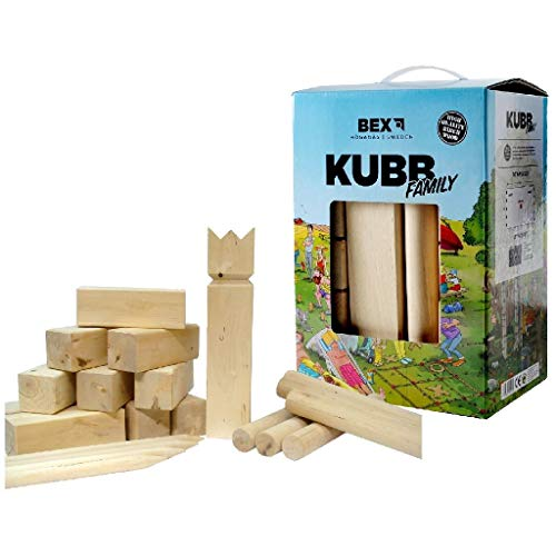 Bex - Kubb Basic Birkenholz Komplettset