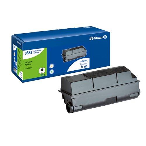 Pelikan Toner ersetzt Kyocera TK-360 (passend für Drucker Kyocera FS 4020)