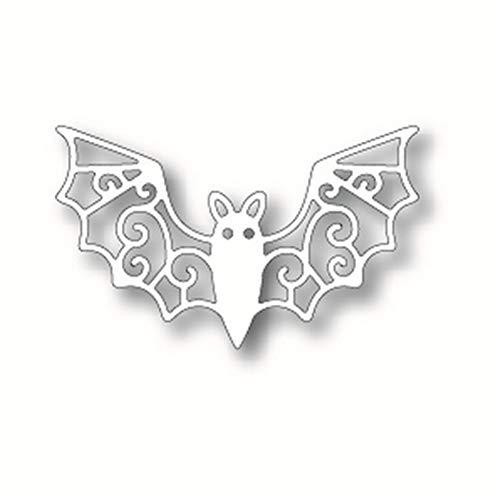 YQCZ Schneidform Metall Stanzformen Scrapbooking Für Kartenherstellung DIY Prägeschnitte New Craft Gemusterte Flügel Der Fledermaus Element