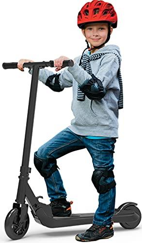 Riding' times Elektroroller für Kinder, Klappbarer Roller Kickscooter Elektro, 120W Motor, 7 km Langstrecke, bis zu 7 km/h, Ladezeit 2 Stunden, für 5-12 Jungen und Mädchen