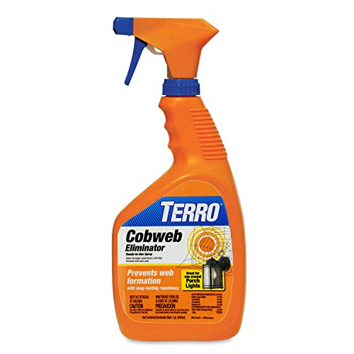 Terro T2360 755627 Cobweb Eliminator, Yellow