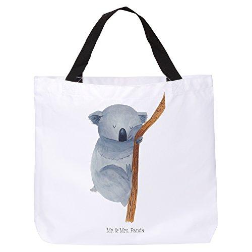 Mr. & Mrs. Panda XXL, Tragetasche, Shopper Koalabär - Farbe Weiß