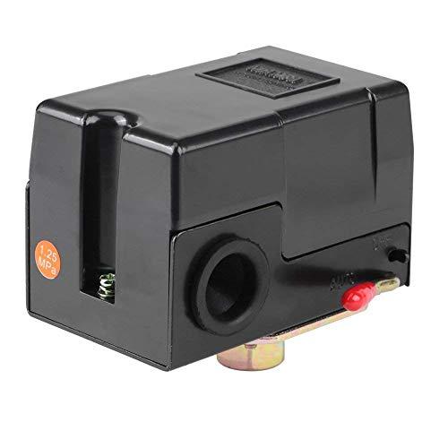 Pressure Switch Control, Single Port Pressure Switch for Air Compressor 135-175PSI Heavy Duty 26Amps Pressure: 135-175 PSI
