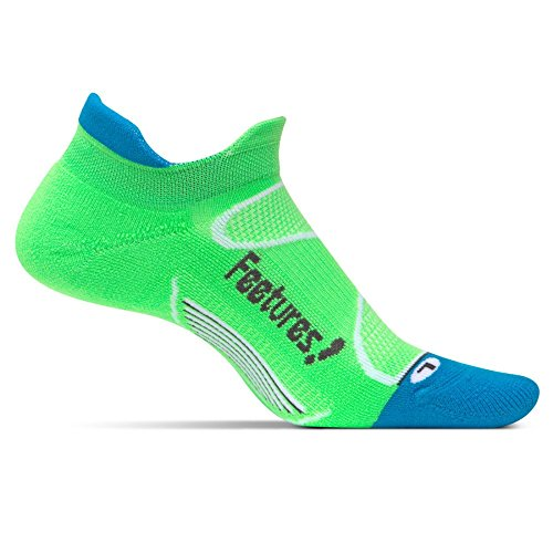 Feetures! Elite light Cushion No Show Tab, Protects High Impact Areas, Targeted Compression Max Cushion & Support