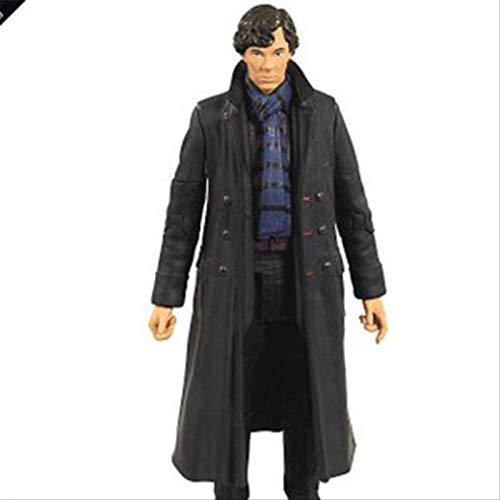 Figura De Anime 18cm Figura De Acción Detective Sherlock Volume Fu Sherlock Holmes PVC Modelo De Juguete Móvil