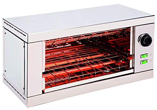 tostador tostadora industrial profesional 1 piso en inox con timer