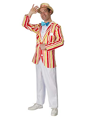 Rubie' s Costume ufficiale Disney Bert Jolly Holiday Mary Poppins, costume da adulto - Taglia standard