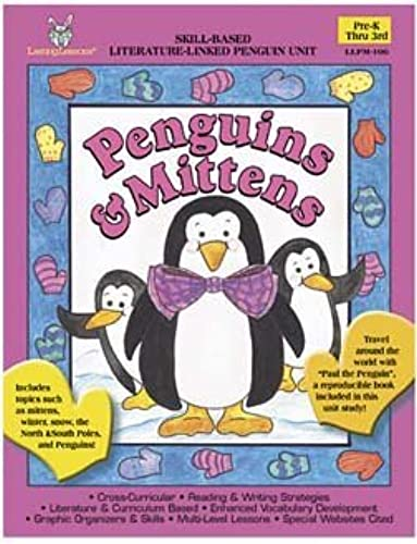 PENGUINS AND MITTENS THEMATIC UNITS by Barker Creek and Lasting Lessons