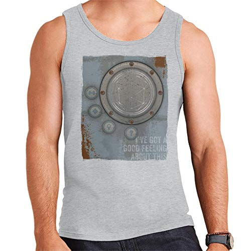 De Crystal doolhof aansteker goed gevoel Roest Panel heren Vest