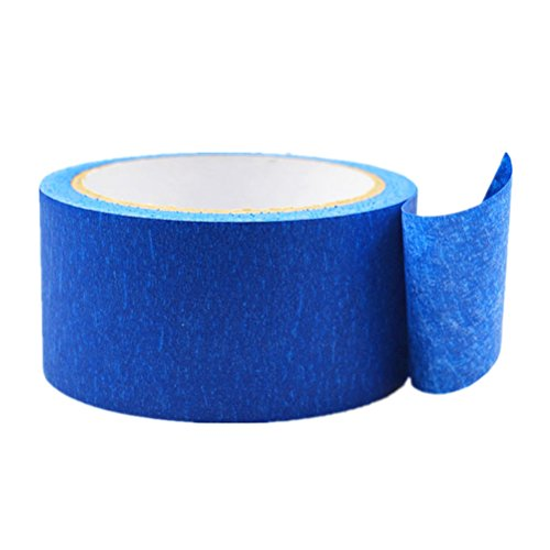 UKCOCO 3D Painters Tape Masking Clean Easy Removal Grip Cover Taper per stampanti 3D 30M x 100mm
