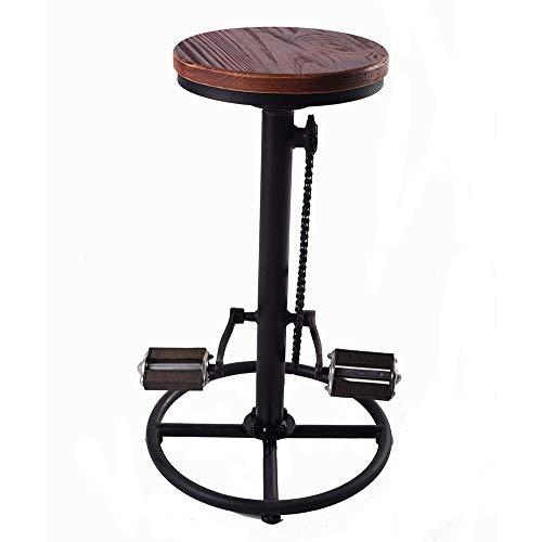 Fahrradhochstuhl, Frühstücksbarstuhl, Retro-Barhocker, Hochsessel im Industriestil, geeignet für Bar und Restaurant