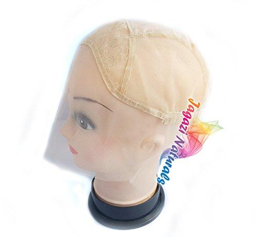 Bargain! Lace Front Wig Base. Glueless Wig Cap. Adjustable straps. Diff Colours/ Bonne affaire! Base de perruque avant en dentelle. Chapeau de perruqu