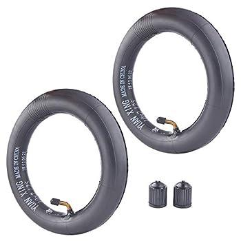 10 x 2.125  10 Inch  Inner Tube for 2-Wheel Scooter fit 10X2 Tires 10X1.90 10X1.95 10X2 10X2.125 Inner Tube 2 Pack of