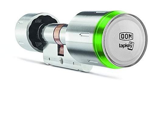 DOM ELS PRO 333 Halbzylinder 1-seitige Lesbarkeit A30  elektronischer Schließzylinder Edelstahl FR WR 125KHz