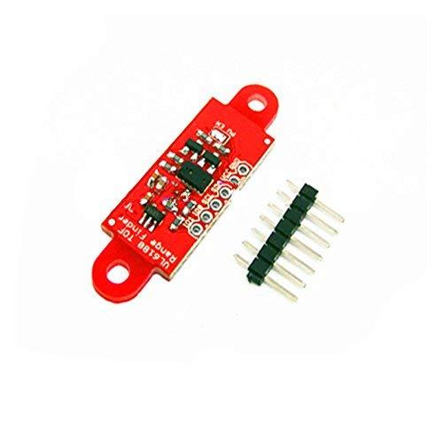 2 sensores de proximidad Vl6180x con sensor de luz ambiental.