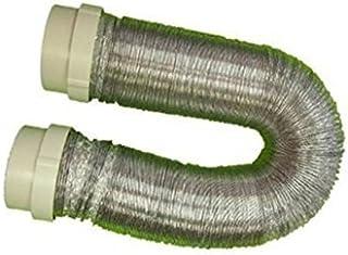 Abluftschlauch / 100 mm / 3 m aus Alu mit 2 Adapter einfach Montage nur einstecken der Superschlauch für Ihren Trockner