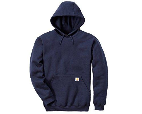 Carhartt Workwear Herren Carhartt Midweight Hooded Sweatshirt, Blau, XS