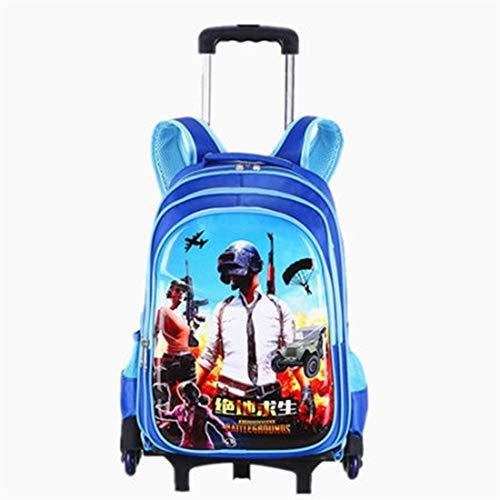 HUOQILIN Trolley-Taschen Schülerin Junge Treppensteigen Entfernbare Folie PV Einweg-wasserdichtes Material, Eine Packung Von Dual-Use Abnehmbar (Color : A)