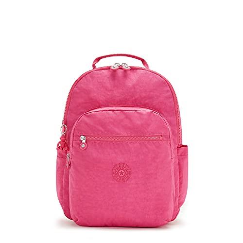 Kipling Seoul Large 15' Laptop Backpack Monster Pink