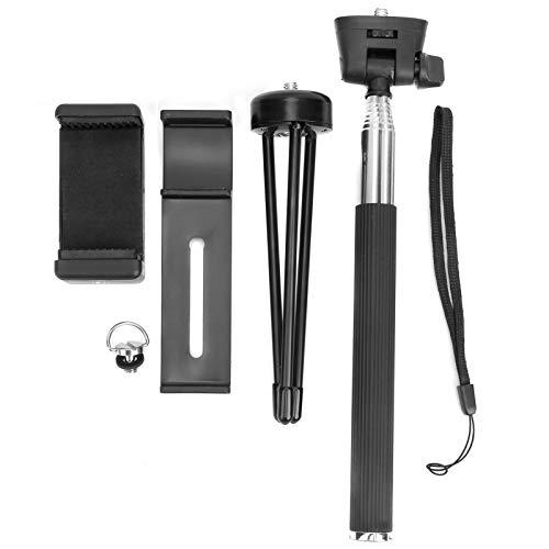 01 Soporte para teléfono móvil, Selfie Stick Ligero con Tornillo para Acampar para montañismo