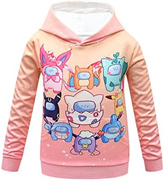 A mong Us Teen Girl Fashion Cartoon Hoodie Girls Novelty Winter Outfits Sweatshirt Graphic Pullover product image