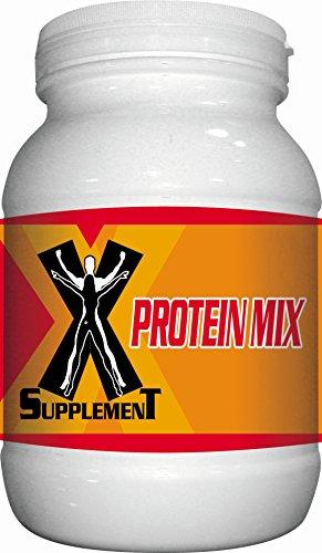 X-Supplemet Proteine del Siero del Latte Fragola - Pacco da 1 X 800 Gr - Totale: 800 Gr