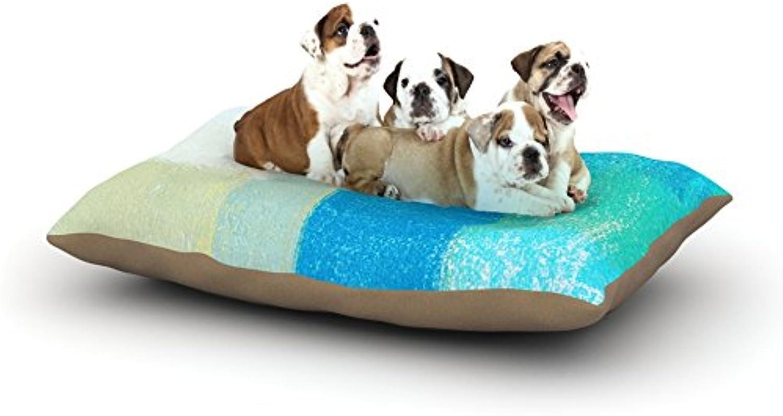 Kess InHouse CarolLynn Tice Simplicity  Fleece Dog Bed, 30 by 40Inch, Light Brown