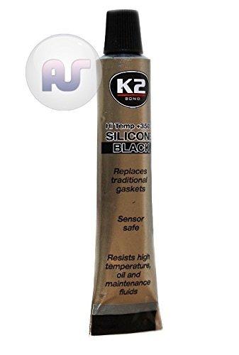 K2 Bond, Silicone Noir à Haute température 350 degrés Celsius, adhésif 21 g