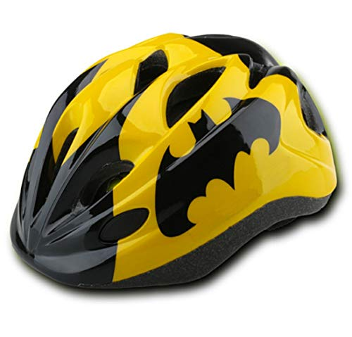 Kids Yellow-black Bicycle Bike Cycling Skating Scooter Helmets Protective Gear for Toddler Child Children Kids,Ultra-light Outdoor Kids Safety Helmet for Boy Girl Student Pupil Age 3-5 5-8