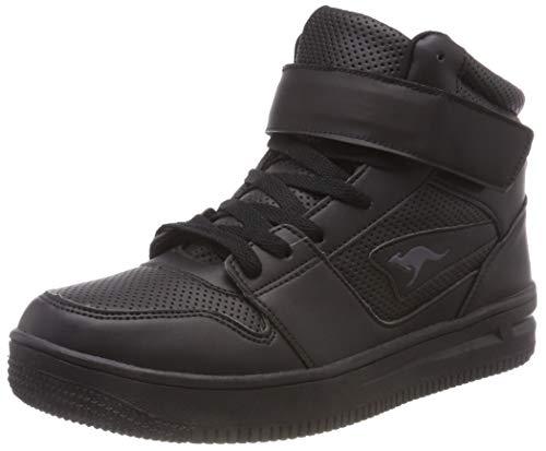 KangaROOS Unisex-Erwachsene Future-Space Hi Hohe Sneaker, Schwarz (Jet Black 5001), 41 EU