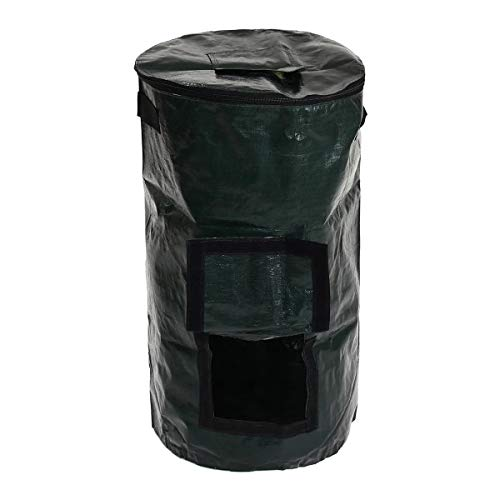 Review Of Grow Bags Garden 60L Organic Composter Waste Converter Waste Bins Eco Friendly Compost Sto...