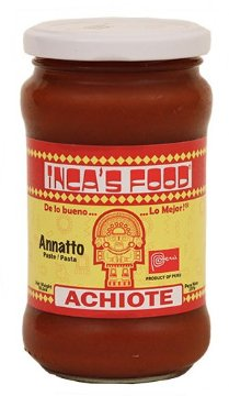Incas Food Achiote Paste - 10.5 Oz - Product of Peru