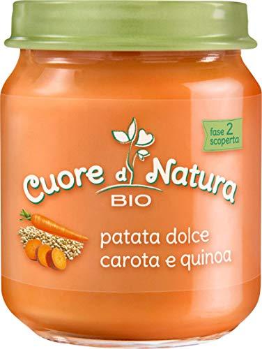 Cuore di Natura OMO CDN Patate con Carote e Quinoa - Pacco da 6 x 110 gr