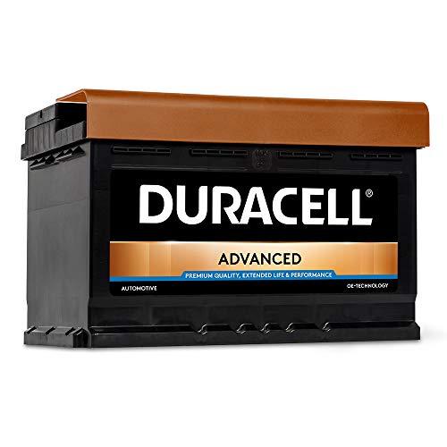 DURACELL Advanced Autobatterie 74AH 12V Starter Batterie (74AH)