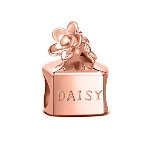 NINAQUEEN Charm Encaja con Pandora Oro Rosa Perfume Regalos Mujer Originales Plata...