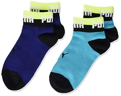 PUMA Kids' Seasonal Quarter Socks (2 pack)