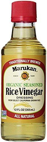 Marukan Organic Seasoned Rice Vinegar Dressing - All Natural 12 oz.