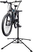 Fischer - Soporte para Montaje de Bicicletas | Soporte de reparación | Base de trípode de 4 Patas | Plegable y Regulable en Altura | Estable con Soporte Fijo