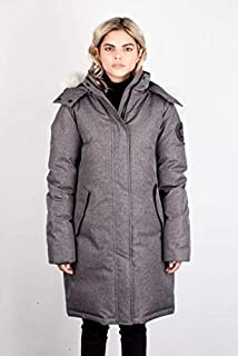Toboggan Canada Gia Heavyweight Down Insulated Jacket - Women's, Textured Grey, XS, Gia-txt-Gry-XS